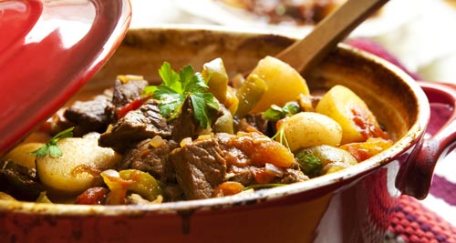 Lamb Stew with Rosemary