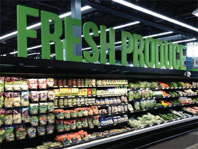 Fresh Produce Sales